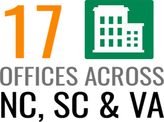 17 Offices Across NC, SC & VA