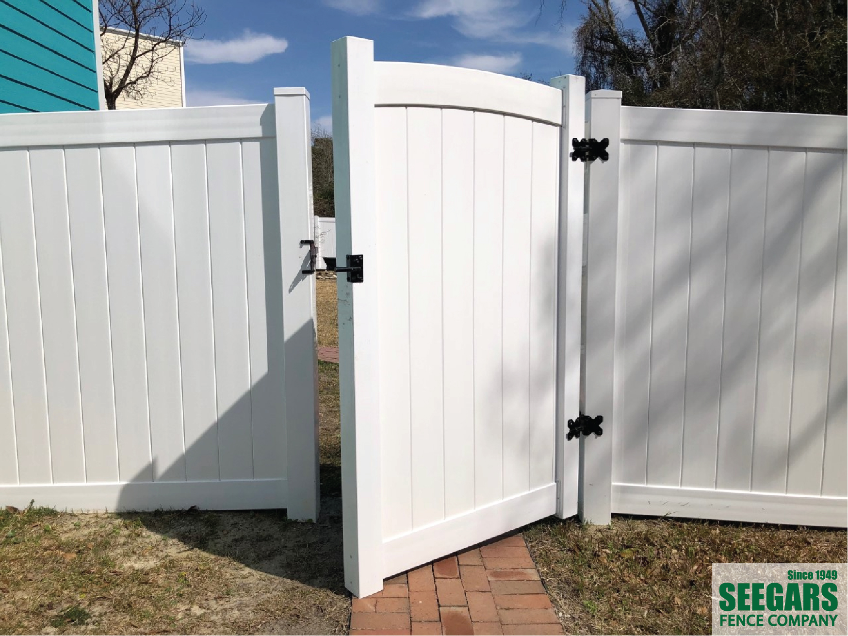 Vinyl Fence Installation Residential Privacy Fencing Seegars Company
