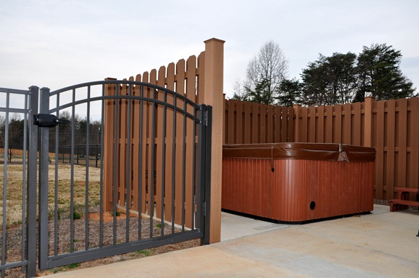 Cellular Pvc Composite Fence Installations Seegars Fence