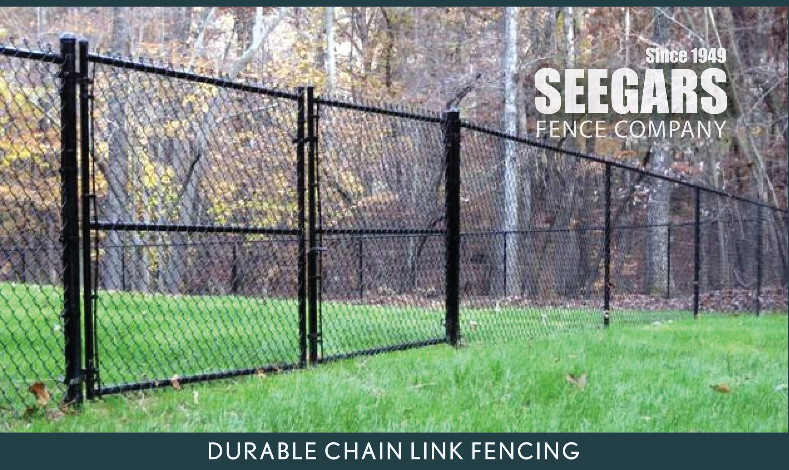 Residential Chain Link Fence Installations & Repairs | Seegars Fence