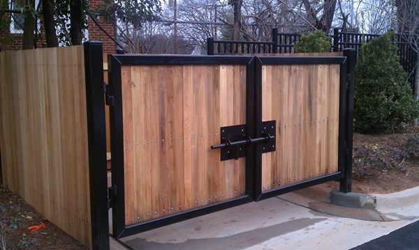 Dumpster Enclosure Gates Amp Fences Seegars Fence Company