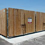Dumpster Enclosure Gates Amp Fences Seegars Fence Company
