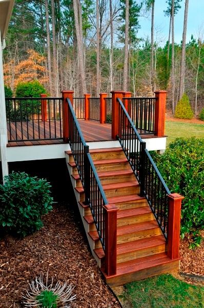 Custom Handrail Installations Steel Amp Vinyl Handrails