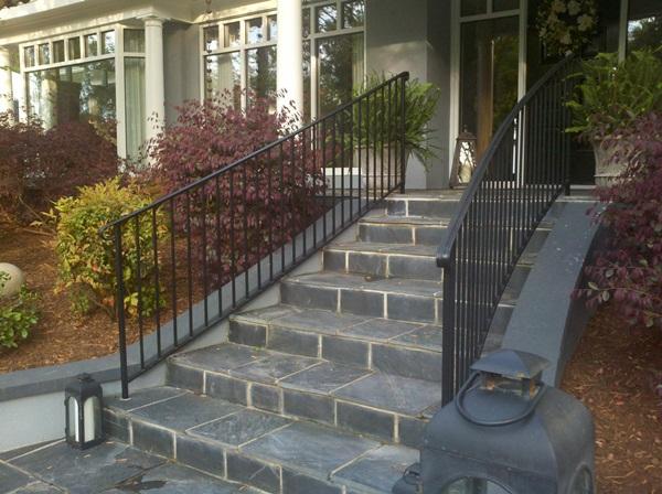 Raleigh Custom Handrails | Stair & Deck Handrail