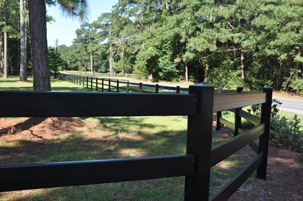 Durham Vinyl Fence Construction Seegars Fence Company