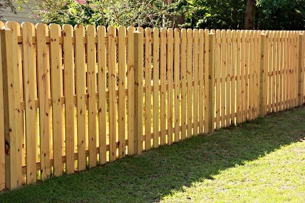 Residential Wood Fence Installations Wooden Gates Amp Fences Seegars
