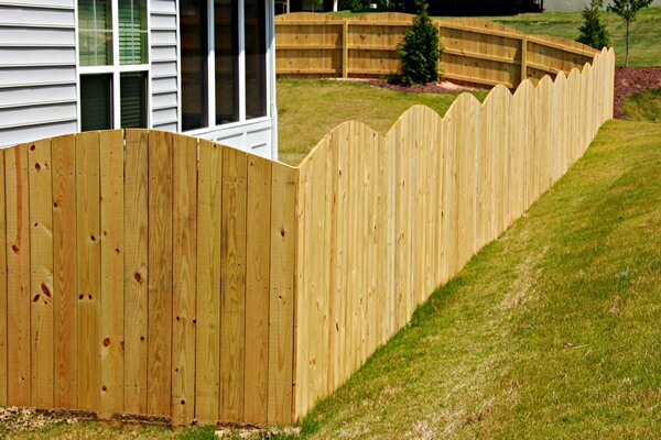 Residential Wood Fence Installations Wooden Gates
