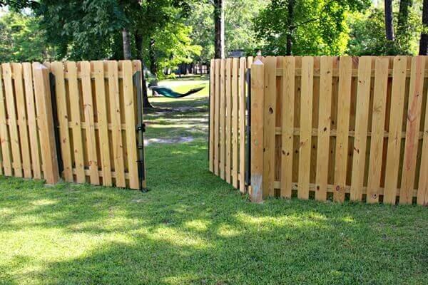 Wood Fencing 26 Seegars Fence Company