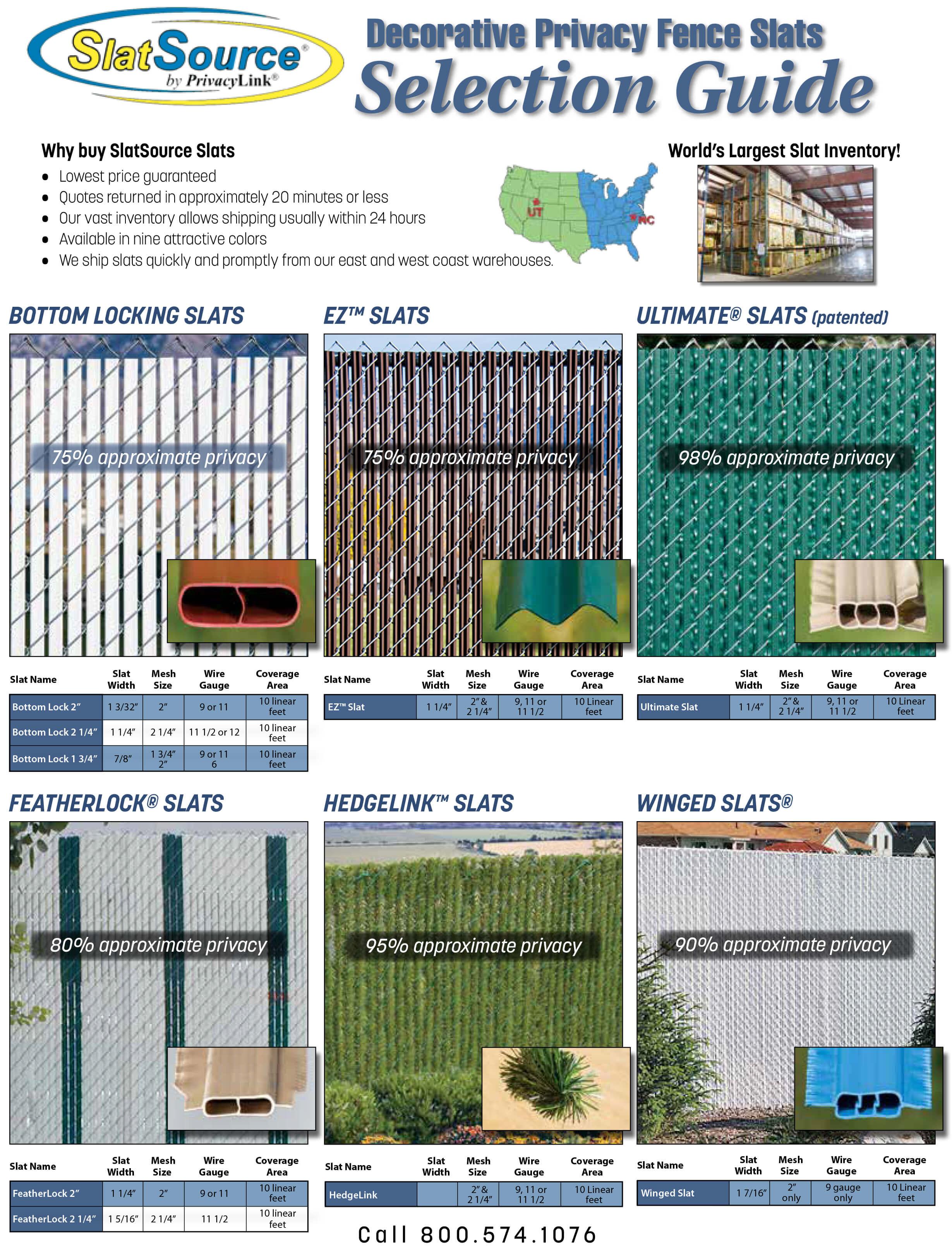 Brochures Seegars Fence Company