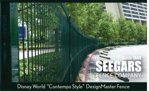 Designmaster Anti Climb Fence Seegars Fence Company