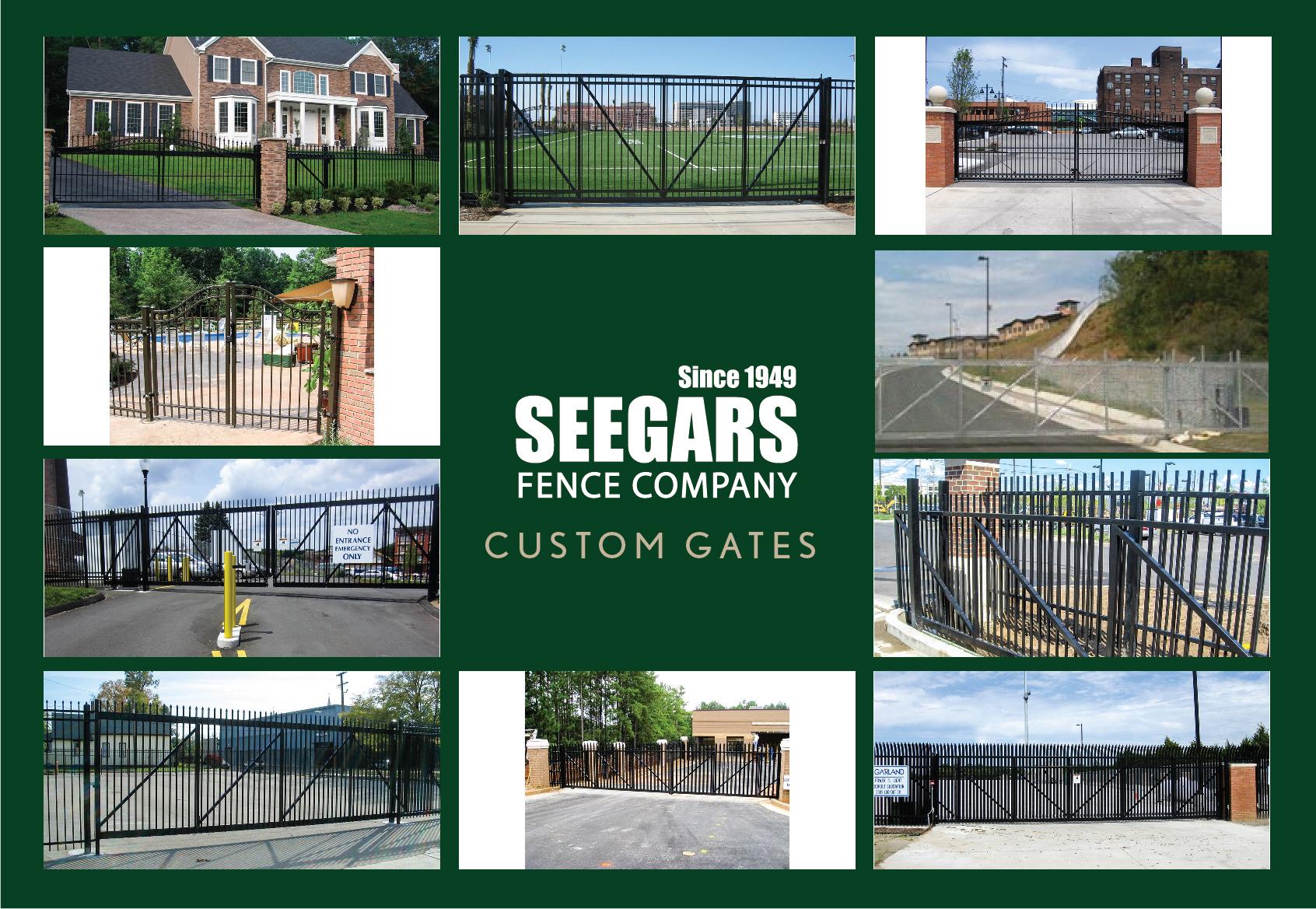 Gates1 Seegars Fence Company
